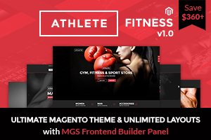 AthleteRelated - Jollyany - Corporate Multi Purpose Magento Theme