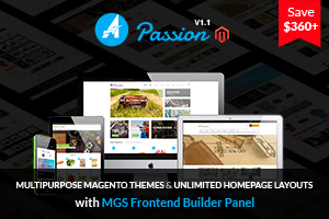 PassionRelated - Jollyany - Corporate Multi Purpose Magento Theme